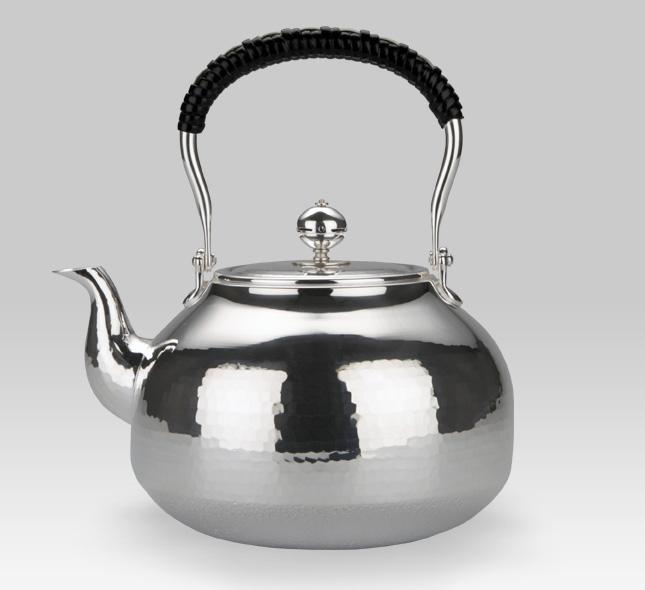 银壶 瓢型