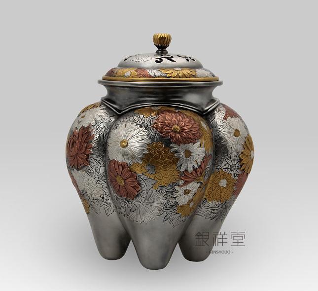 银香炉 菊花香炉