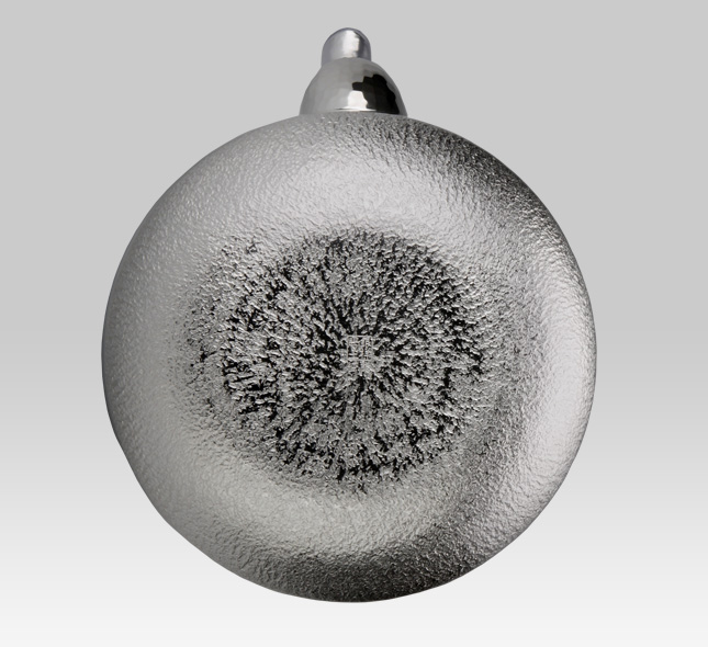 Silver Kettle Calabash Shape