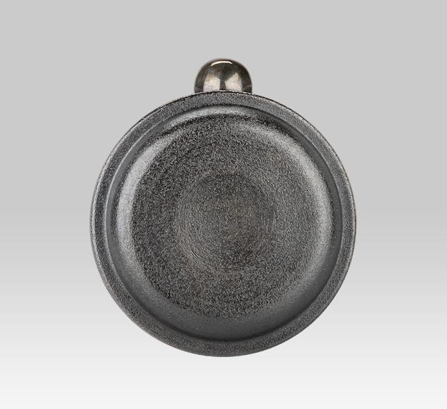 銀瓶 釜型亀甲紋御座目打ち4.5寸