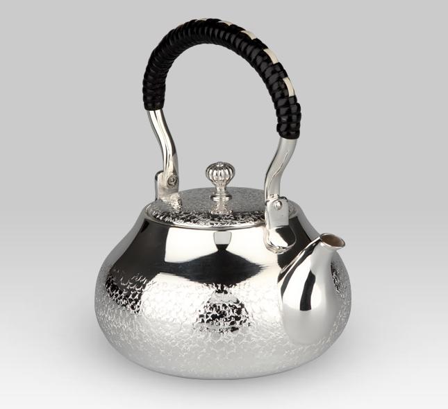 銀茶器 銀製燗瓶