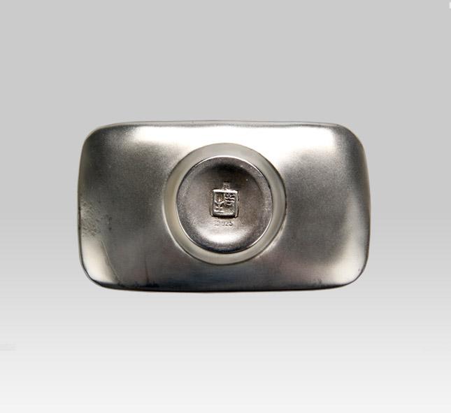 银茶托 双寿字纹(5枚装)